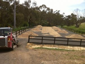 Outdoor Riding Arena Construction
